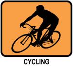 Cycling (orange)