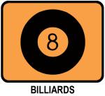 Billiards (orange)