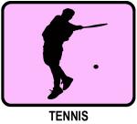 Mens Tennis  (pink)