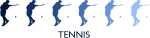 Mens Tennis  (blue variation)