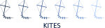 Kites (blue variation)
