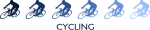 Cycling (blue variation)
