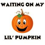 Waiting on my pumpkin
