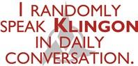 Random Klingon