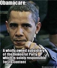 ObamaCare Meme