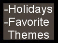 Holiday + Favorite Themes