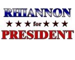 RHIANNON for president
