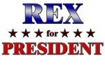 REX for president