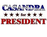 CASANDRA for president