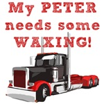 My PETER needs some WAXING!