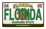 Florida Plate - FLORIDA