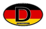 Germany Colors Oval