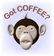 "Got Coffee"" Monkey"