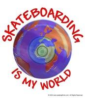 Skateboarding is my World
