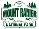 Mount Ranier National Park Sign