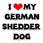 German Shedder Dog