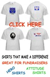fundraiser shirts / shirts that make a difference