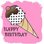 HAPPY BIRTHDAY ICE CREAM LOOK