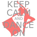 Colorguard Keep Calm and Dance On