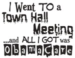 Town Hall Meeting ObamaCare - Anti-Obama T-Shirts