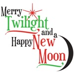 Merry Twilight and a Happy New Moon Gifts and Tees