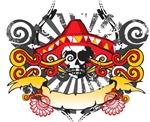 Festive Skull Design
