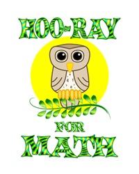 <b>HOO-RAY FOR MATH</b>