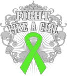 Lymphoma Fight Like a Girl Shirts