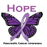 Hope For Pancreatic Cancer Awareness T-Shirts
