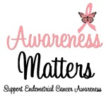 Awareness Matters Endometrial Cancer T-Shirts