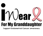 Endometrial Cancer (Granddaughter) T-Shirts