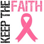 Keep The Faith Breast Cancer T-Shirts