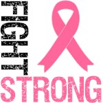 Fight Strong Breast Cancer Awareness Shirts