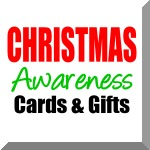 Cancer Awareness Christmas Card, Ornament  & Gifts