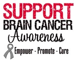 Support Brain Cancer Awareness T-Shirts & Gifts