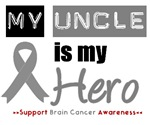Brain Cancer Hero (Uncle) T-Shirts & Gifts