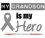 Brain Cancer Hero (Grandson) T-Shirts & Gifts