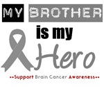 Brain Cancer Hero (Brother) T-Shirts & Gifts