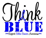 Colon Cancer Think Blue T-Shirts & Gifts