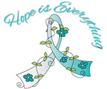 Hope is Everything Cervical Cancer Tees & Gifts
