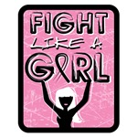 FIGHT LIKE A GIRL Breast Cancer Advocacy Shirts