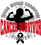 Melanoma Cancer Tough Survivor Shirts