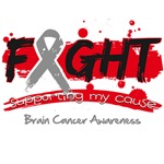 Fight Brain Cancer Cause Shirts