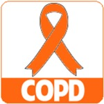 COPD Awareness (Orange Ribbon)