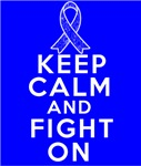 Colon Cancer Keep Calm Fight On Shirts
