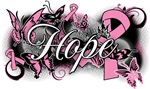 Breast Cancer Hope Garden Shirts and Gifts