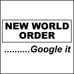 New World Order... Google it. - T-Shirt