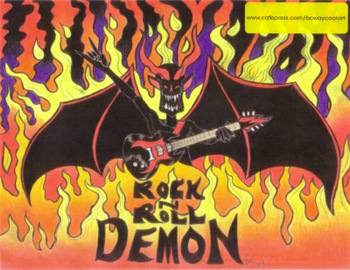 Rock-n-Roll Demon #2