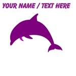 Custom Purple Dolphin