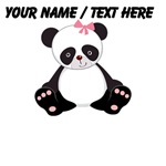Custom Girl Panda